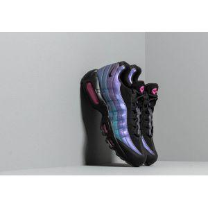 Nike Chaussure Air Max 95 Premium pour Homme - Noir - Taille 45.5 - Male