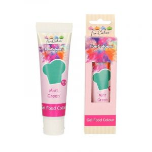 Colorant alimentaire en gel Funcakes vert menthe