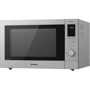 Panasonic Micro ondes combiné 34L Gris Acier - NN-CD87KSUPG