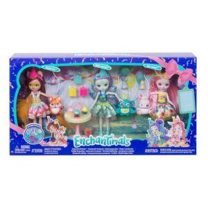 Mattel Enchantimals - Coffret Anniversaire Enchanté