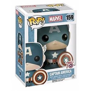 Funko Figurine Pop! Marvel Sepia Toned Captain America 75th Anniversary Limited Edition