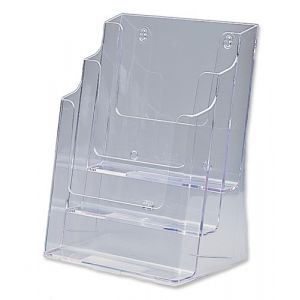 Deflecto Docuholder Porte-brochures vertical 3 compartiments