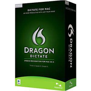 Dragon Dictate 2.5 pour Windows, Mac OS