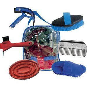 HKM 6357Set de nettoyage complet, 6pièces dans un sac, M