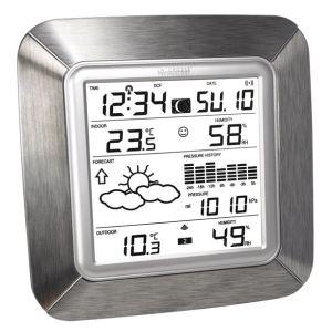 La Crosse Technology WS9057 - Station météo pour température intérieure et extérieure, hygromètre et humidité