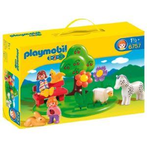 Playmobil 6757 - 1.2.3 : Square des animaux