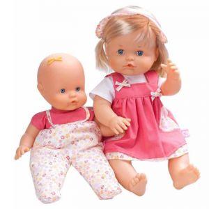 Famosa Nenuco et sa petite soeur (42 et 35 cm)