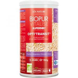 Biopur Super Mix Opti transit Psyllium Chicorée 150g
