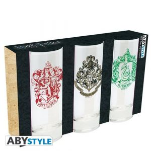 Abysse Corp Set 3 Verres - Harry Potter