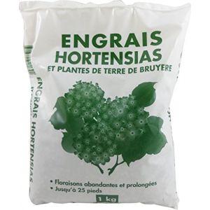 NONA Engrais pour hortensias - 1 kg - Hortensias - 1 kg - Formulation composée d'éléments essentiels - Sous forme de granulés
