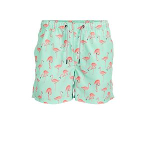 Jack & Jones Maillots de bain Ruba Akm Animal L Brook Green - Brook Green - L
