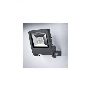 Ledvance Endura Flood LED | Projecteur Extérieur | Gris foncé | 10 Watts - 700 Lumens | Blanc Chaud 3000K | Etanche IP65