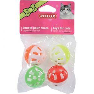 Zolux Jouets chat 4 sphères grelot 4 cm