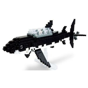 Kawada Nanoblock - Tintin le requin sous-marin