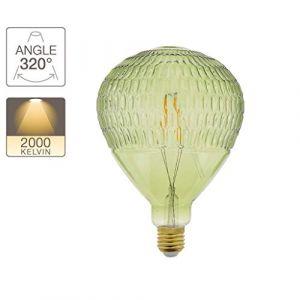 Xanlite | RFDE300BLG, Ampoule LED déco, ballon vert, culot E27, blanc chaud