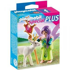 Image de Playmobil 5370 Special Plus - Fée avec chevreuil enchanté