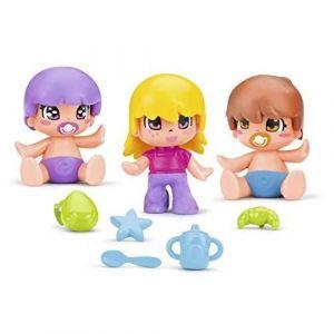 Famosa PINYPON - Pack de 3 Figurines de l'univers bébés - Modèle 2