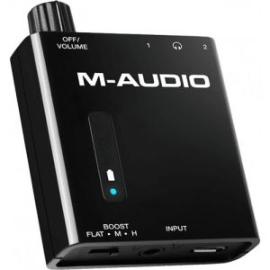 M-Audio Bass Traveler - Amplificateur pour Casque Portable