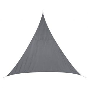 Hesperide Voile d'ombrage triangulaire Curacao 2 m gris