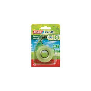 Tesa Film Eco&Clear 1 rouleau 33m x 19mm + 1 dérouleur