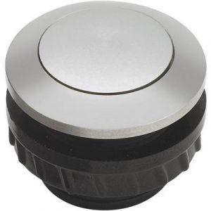 Grothe Bouton de sonnette 1 prise 62002 aluminium 24 V/1,5 A