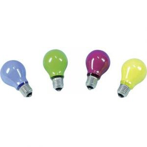 Barthelme Ampoule à incandescence E27 25 W vert forme de poire 1 pc(s)