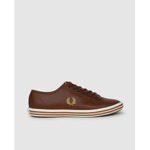 Fred Perry Kingston Leather Tan 1964 Gold 44