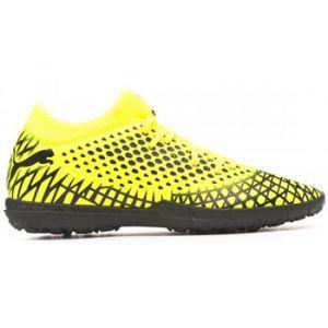 Puma Chaussure de foot FUTURE 4.4 TT pour Homme, Jaune/Noir, Taille 44.5