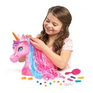 IMC Toys Tête à coiffer Reine des licornes (Barbie et la porte secrète)