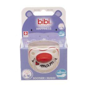 Bibi Sucette I Love Mama en silicone 6-16 mois