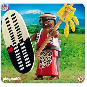 Playmobil 4685 - Guerrier Massaï