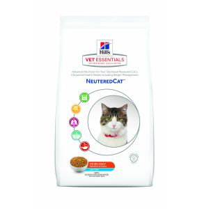 Hill's Neutered Young Adult Tuna 2 x 3 kg - Vetessentials pour chat
