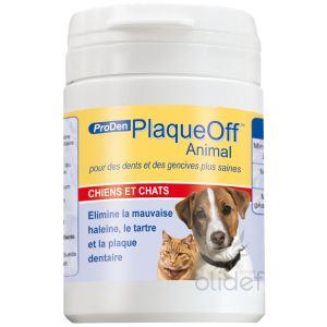 ProDen PlaqueOff Animal : protection contre la mauvaise haleine, le tartre et la formation de plaque