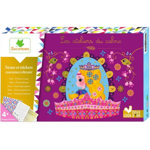 Sycomore Strass et sticker : Couronnes de princesses
