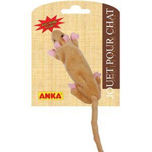 Anka Jouet pour chat Rat no Stuffing avec herbe à chat