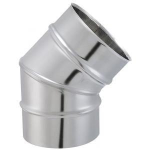 Isotip 032615 - Coude à secteur 45° TYRAL INOX diamètre 153