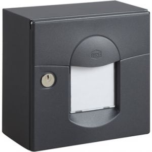 boite aux lettres anthracite comparer 47 offres. Black Bedroom Furniture Sets. Home Design Ideas