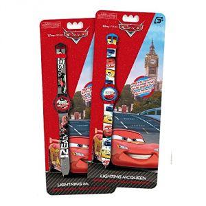 Kids Euroswan 86001 - Montre pour enfant Digitale Disney Cars