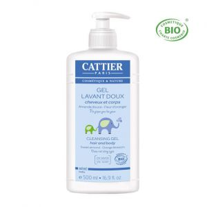 Cattier Gel lavant doux, 500ml