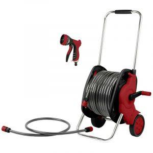 Toolcraft 2302701 Dévidoir de tuyau 30 m, 13 mm (1/2) Dévidoir de tuyau