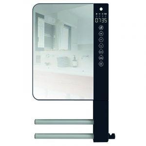 Atlantic Radiateur sèche serviette soufflant Telia avec miroir et 2 barres 720111