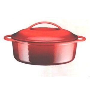 Baumalu Cocotte ovale en fonte 28 cm