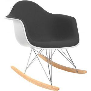 Best Charles Eames Rocking Chair Rar Chaise Bascule En Simili Cuir With  Rocking Chair Cuir Blanc