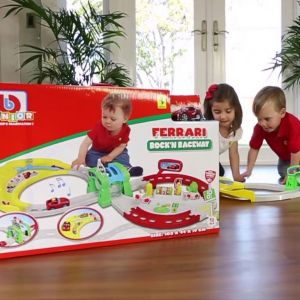 Bburago Mon premier circuit : Ferrari Rock'n Raceway