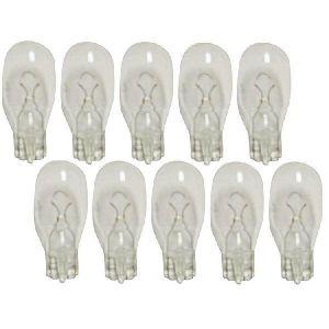 10 Ampoules T15 - 12V 18W 2800K - Wedgebase - W2.1x9.5D - Blanc