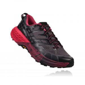 Hoka One One SpeedGoat 2 W Chaussures running femme Gris/argent - Taille 36.2/3
