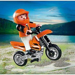 Playmobil 4698 - Enfant et motocross