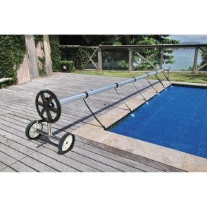 Kokido K336WBX - Enrouleur de bâche Basic pour piscine enterrée avec tube diamètre 80 mm