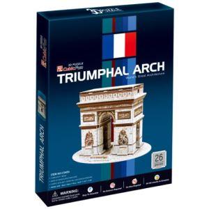 CubicFun Arc de Triomphe - Puzzle 3D 26 pièces