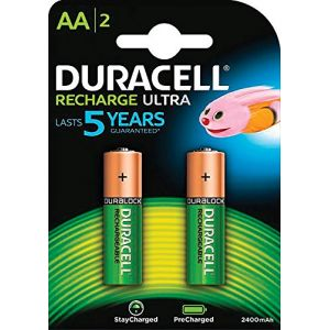 Duracell Accus HR06 AA 2400mah lot de 2